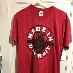 Goldman men's MADE IN DETROIT t shirt. NWT